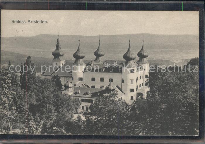 Artstetten Poebring Schloss Artstetten Kat. Artstetten Poebring