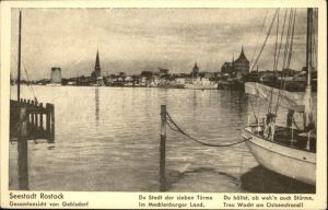 Rostock Mecklenburg-Vorpommern Hafen / Rostock /Rostock Stadtkreis