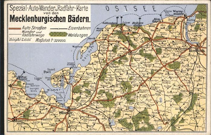 Rostock Mecklenburg Vorpommern Ostsee Mecklenburgische Baeder