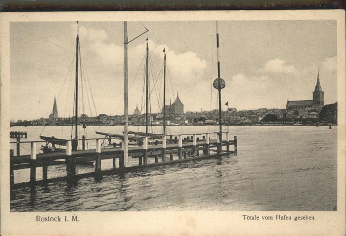 Rostock Mecklenburg-Vorpommern Stadt Hafen / Rostock /Rostock Stadtkreis