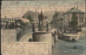 Aue Sachsen Bahnhofstrasse Erzgebirge x