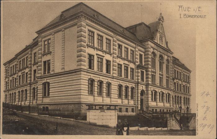 Aue Sachsen Buergerschule Erzgebirge *