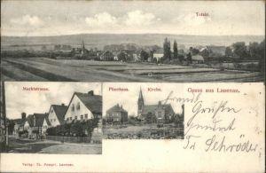 Lauenau Marktstrasse Pfarrhaus Kirche  x
