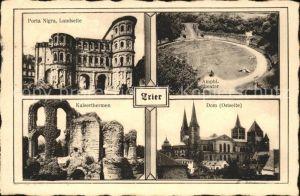 Trier Porta Nigra Amphitheater Kaiserthermen Kat. Trier