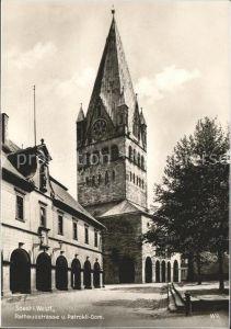 Soest Arnsberg Rathausstrasse Patrokli-Dom / Soest /Soest LKR