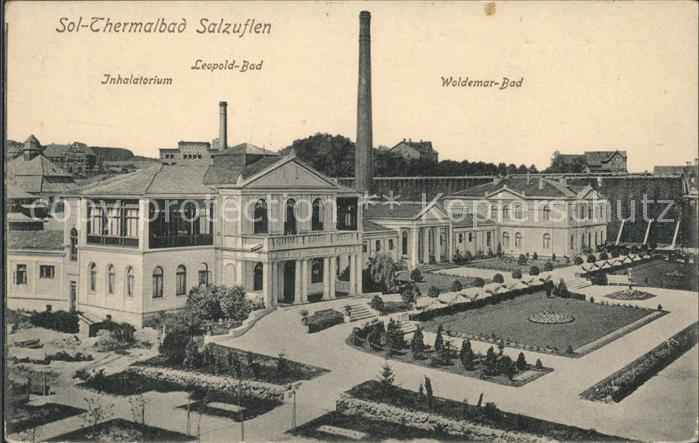 Bad Salzuflen Woldemar Bad Inhalatorium Leopold Bad Kat. Bad Salzuflen