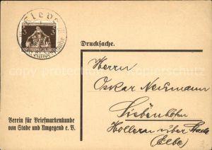 Stade Niederelbe Versammlung Verein fuer Briefmarkenkunde von Stade und Umgebung e.V. / Stade /Stade LKR