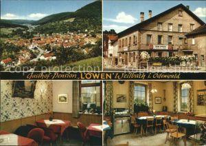 Weilbach Unterfranken Gesamtansicht Gasthof Pension Cafe Zum Loewen Kat. Weilbach