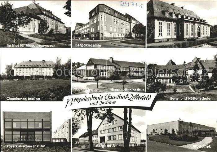 Clausthal Zellerfeld Bergakademie und Institute Kat. Clausthal Zellerfeld