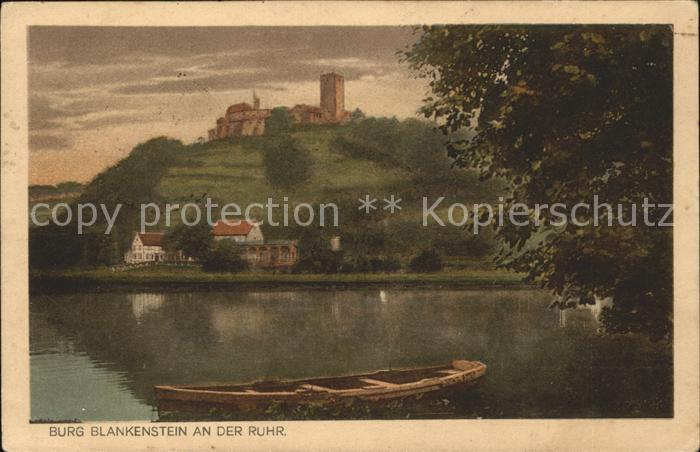 Hattingen Ruhr Burg Blankenstein  Kat. Hattingen
