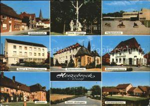 Herzebrock Kreissparkasse Kloster Gildestrasse Krankenhaus Kindergarten  Kat. Herzebrock Clarholz