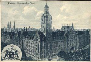 Bremen Norddeutscher Lloyd Wappen  Kat. Bremen