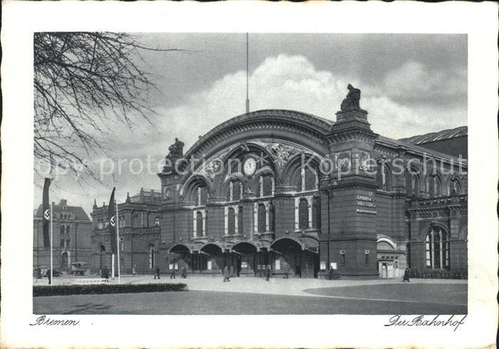 Bremen Der Bahnhof Kat. Bremen