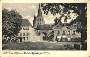 Xanten Marktplatz mit Dom Kat. Xanten