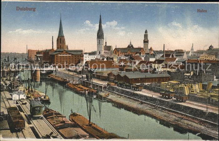 Duisburg Ruhr Halen Hafen / Duisburg /Duisburg Stadtkreis