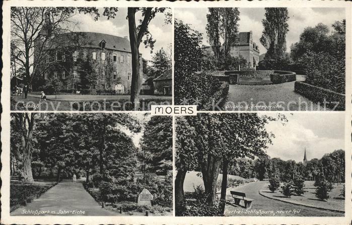Moers Amtsgericht Schloss Kat. Moers