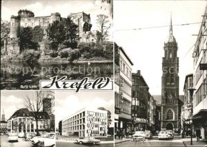 Krefeld Hauptzollamt Burg Linn Dionysiuskirche Kat. Krefeld