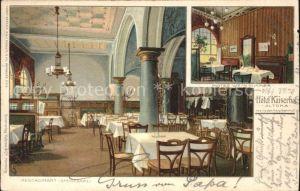Hamburg Hotel Kaiserhof Altona Kat. Hamburg