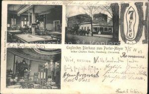 Hamburg Englisches Bierhaus Kat. Hamburg