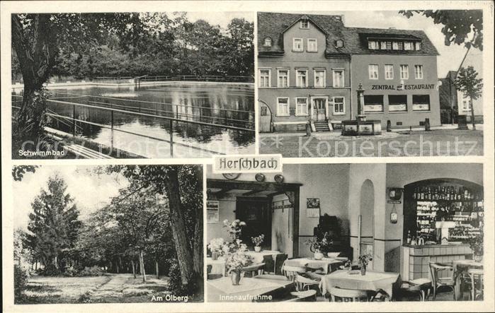Herschbach Oberwesterwald Zentral Restaurant Heibel Kat. Herschbach (Oberwesterwald)