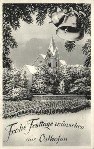Osthofen Rheinhessen Kirche Kat. Osthofen