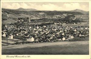 Heimersheim Ahr Gesamtansicht Kat. Bad Neuenahr Ahrweiler