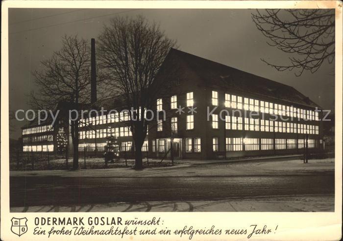 Goslar Fabrikgebaeude der Firma Odermark Kat. Goslar