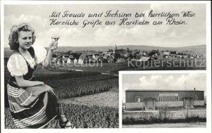 Harxheim Rheinhessen Gesamtansicht Kat. Harxheim