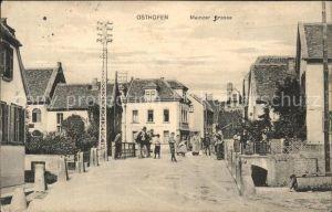 Osthofen Rheinhessen Mainzer Strasse (Feldpost) Kat. Osthofen