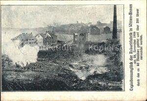 Annen Ennepe Ruhr Nach de Explossion der Sprengstoff Roburitfabrik in Annen 1906 Kat. Witten