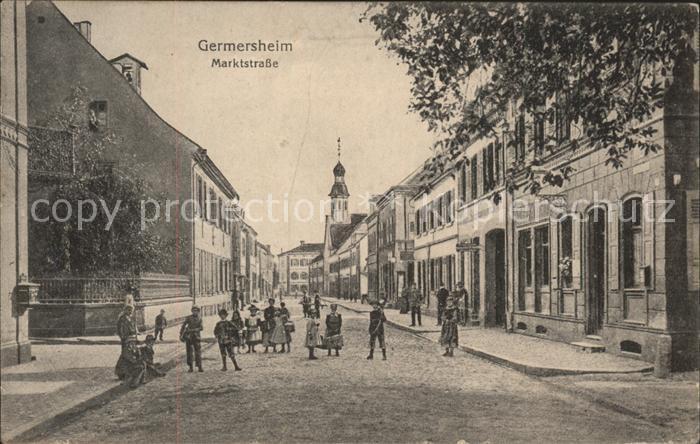 Germersheim Marktstrasse Kat. Germersheim
