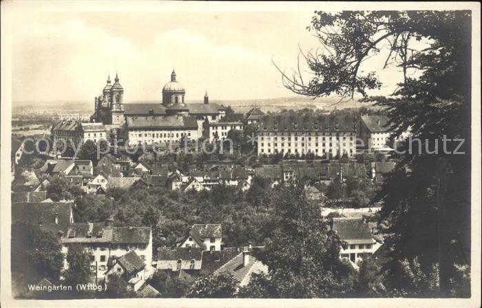 Weingarten Wuerttemberg Kloster Weingarten / Weingarten /Ravensburg LKR