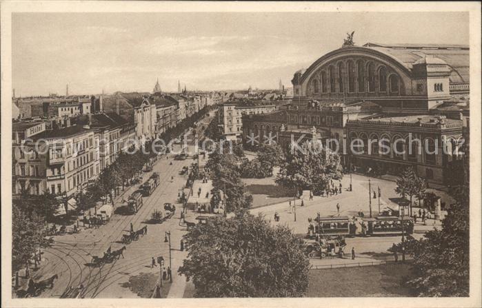 Berlin Askanischer Platz und Anhalter Bahnhof Kat. Berlin