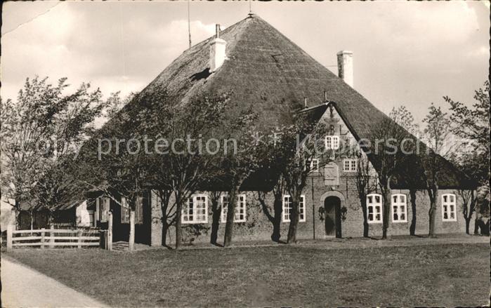 St Peter-Ording Haubarg friesisches Bauernhaus / Sankt Peter-Ording /Nordfriesland LKR