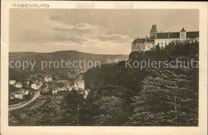 Rosenburg-Mold Schloss Rosenburg / Rosenburg-Mold /Waldviertel