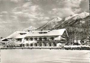 Kruen Hotel Pension Alpenhof Winterimpressionen Kat. Kruen