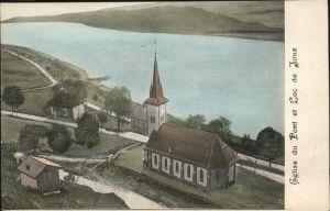 Le Pont VD Eglise du Pont / Le Pont /Bz. La Vallee