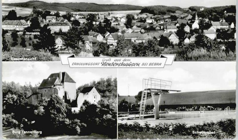 Nentershausen Hessen Schwimmbad  / Nentershausen /Hersfeld-Rotenburg LKR