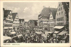 Biberach Riss Marktplatz / Biberach an der Riss /Biberach LKR