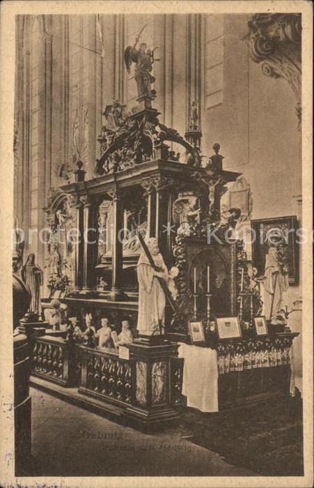 Oels Niederschlesien Kirche Innen Kat. Olesnica