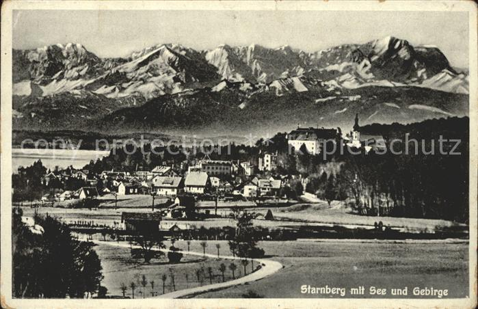 Starnberg See Gebirge Kat. Starnberg