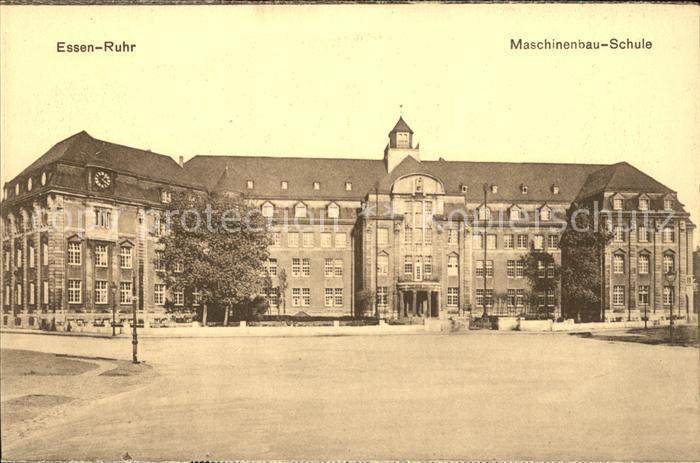 Essen Ruhr Maschinenbau Schule Kat. Essen