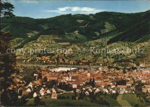 Haslach Kinzigtal im Schwarzwald Gesamtansicht Kat. Haslach Kinzigtal