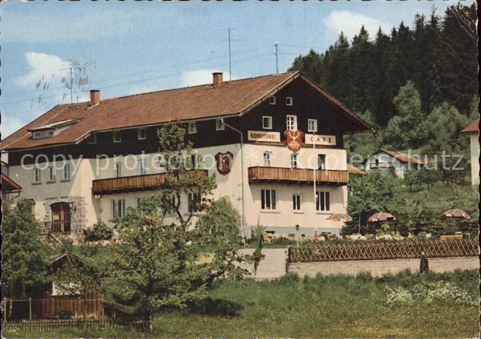 Bodenmais Hotel Pension Cafe Hubertus Bayerischer Wald Kat