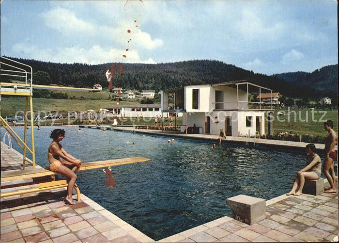 Bodenmais Schwimmbad Luftkurort Bayerischer Wald Kat Bodenmais Nr