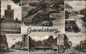 Gevelsberg Ehrenmal Mittelstrasse Heilenbecketalsperre Pavillon Nirgenaplatz Sparkasse Kat. Gevelsberg