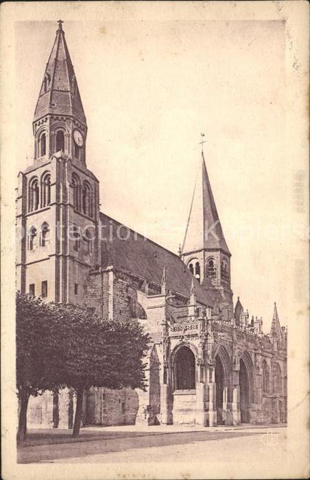 Poissy Eglise Notre Dame Kat. Poissy