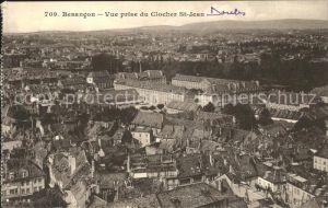 Besancon Doubs Vue prise du Clocher St. Jean Kat. Besancon