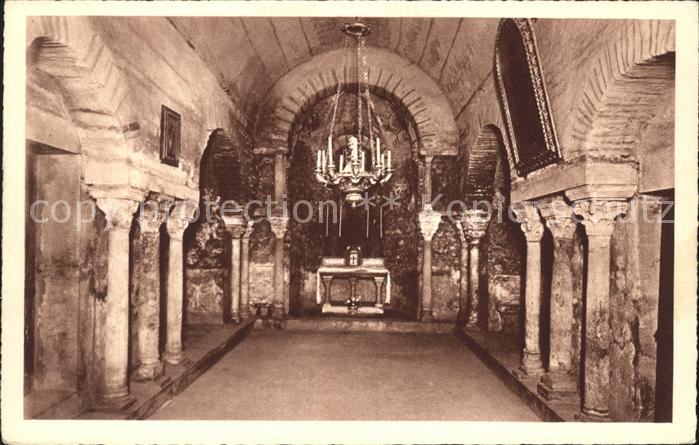Grenoble Crypte de l Eglise Saint Laurent Kat. Grenoble