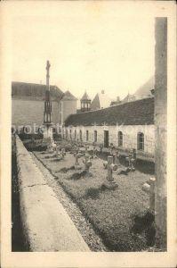 Saint Pierre de Chartreuse Isere Monastere de la Grande Chartreuse Le Cimetiere Kat. Saint Pierre de Chartreuse